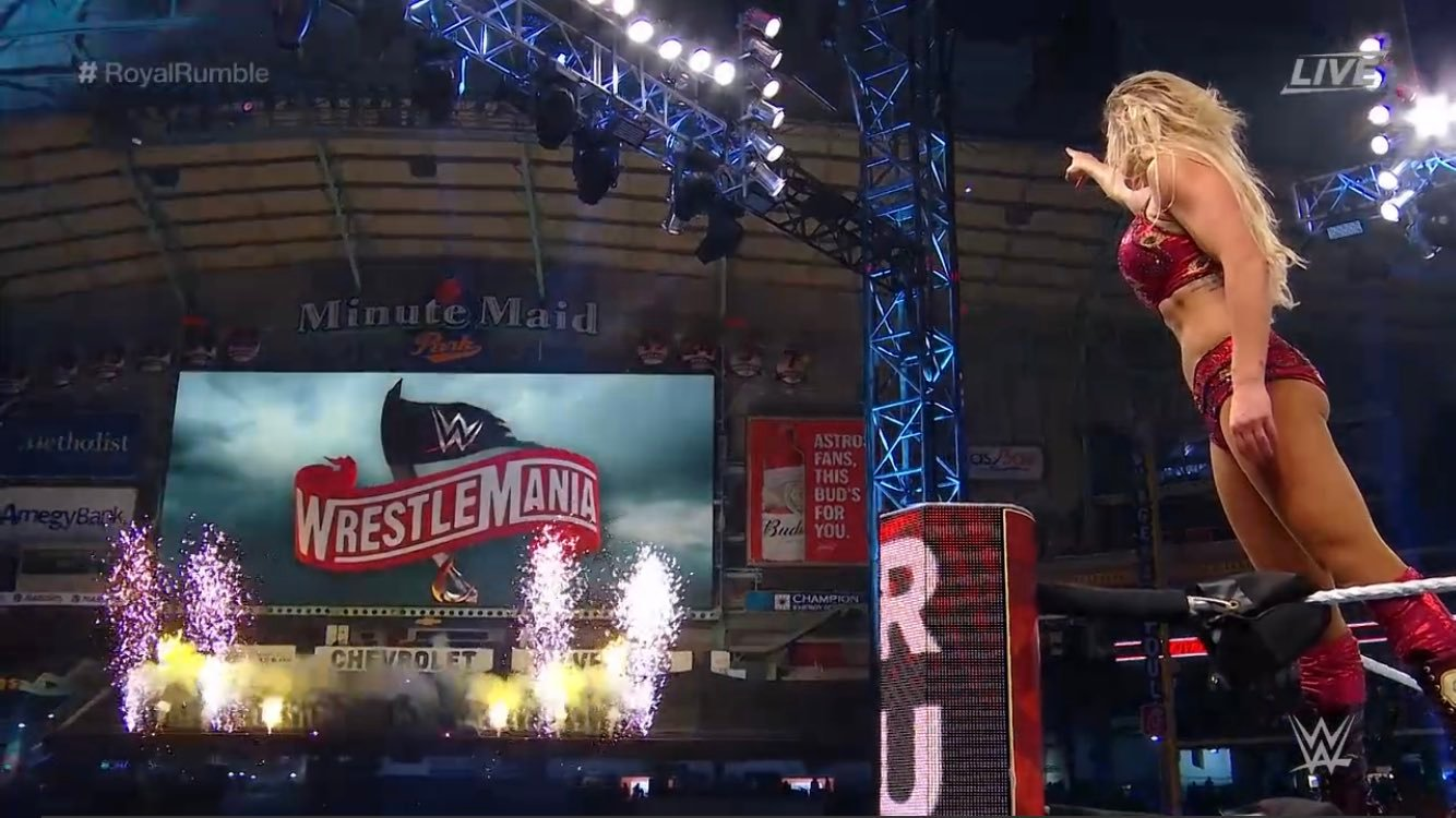 Royal Rumble results: Charlotte Flair books place at Wrestlemania after Rumble victory as Becky Lynch retains Raw Women's Title against Asuka