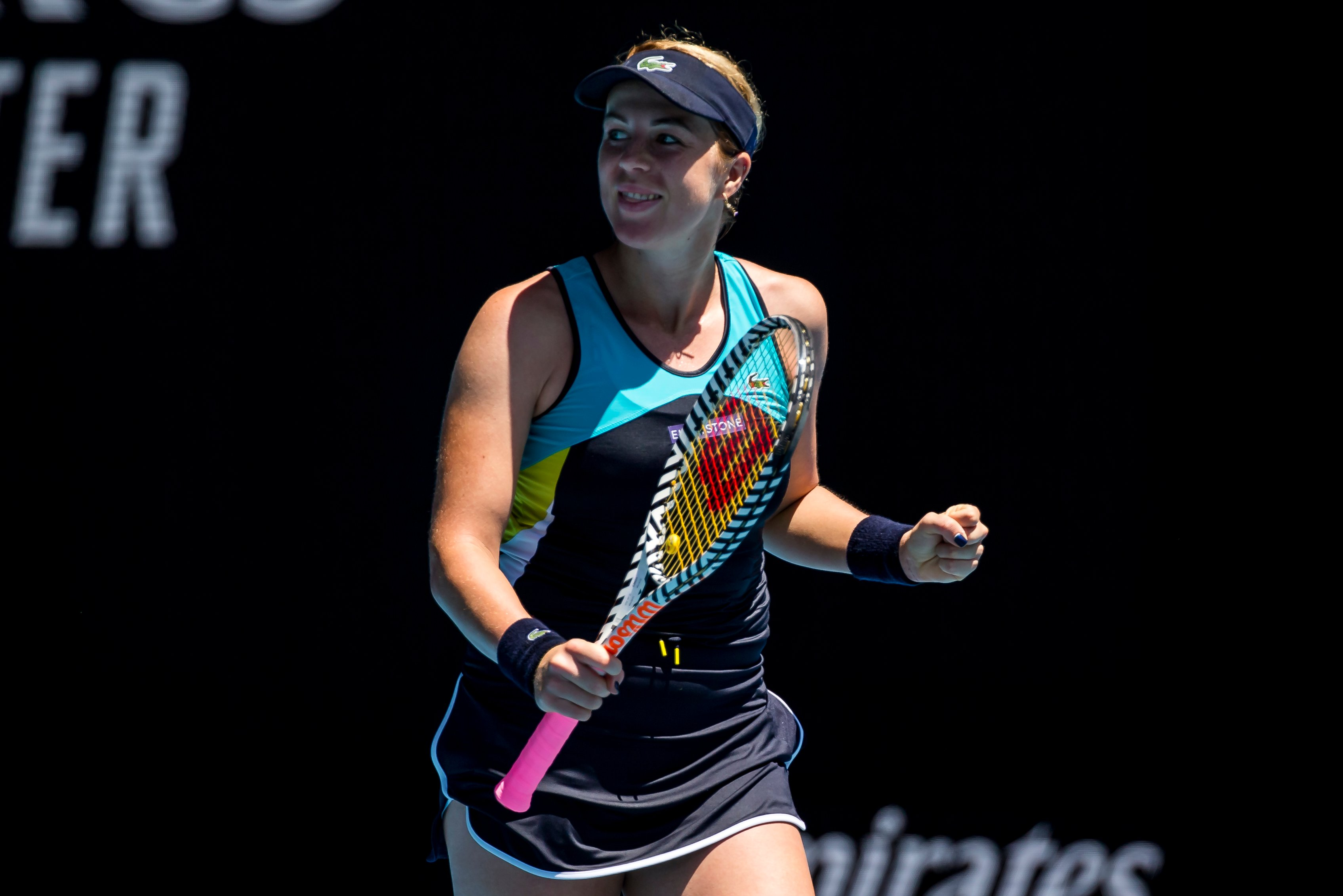 Pavlyuchenkova stuns Kerber at Australian Open to set up Muguruza quarter-final clash