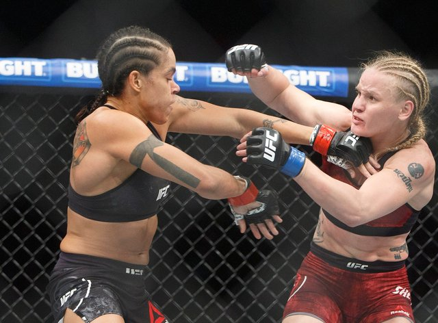 Valentina Shevchenko (right) and Amanda Nunes could see a third fight (PA Images)