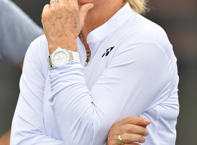 Martina Navratilova has penned a full letter criticising Court's outbursts (PA Images)