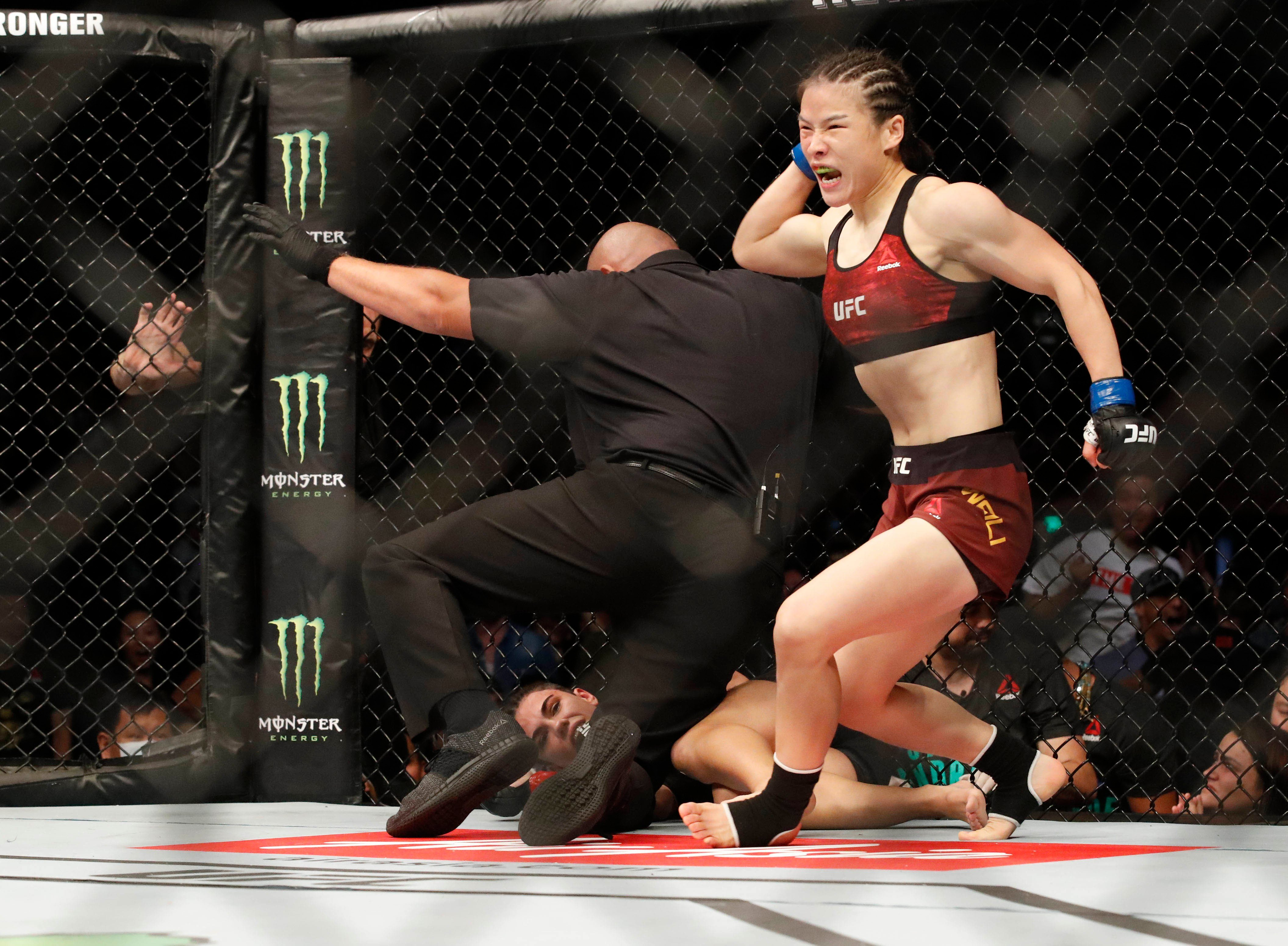 UFC's Zhang Weili hits out at Joanna Jedrzejczyk for Instagram meme about coronavirus