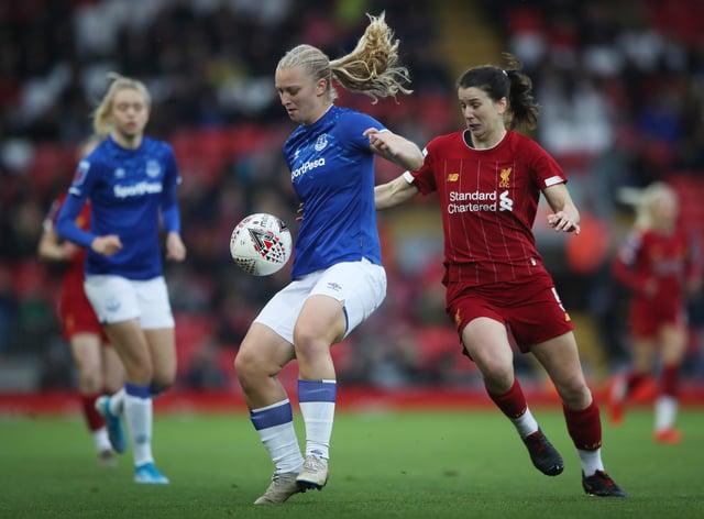 Elise Hughes (left) will undergo rehab back at Everton (PA Images)