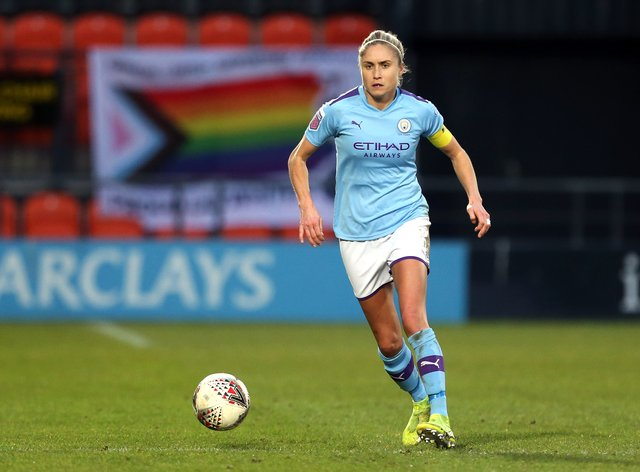 Steph Houghton is 'gutted' that Nick Cushing is leaving (PA Images)