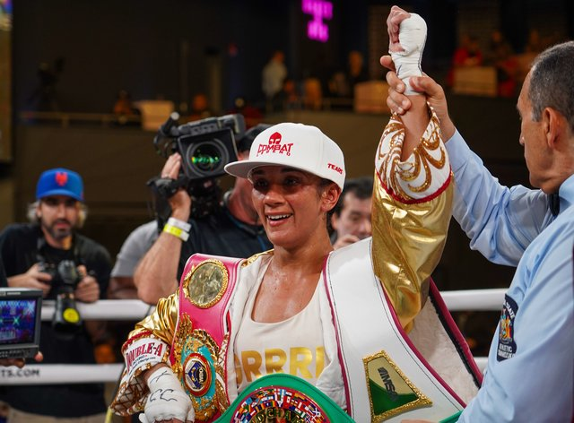 Serrano has now won 38 of her 40 professional boxing fights (PA Images)
