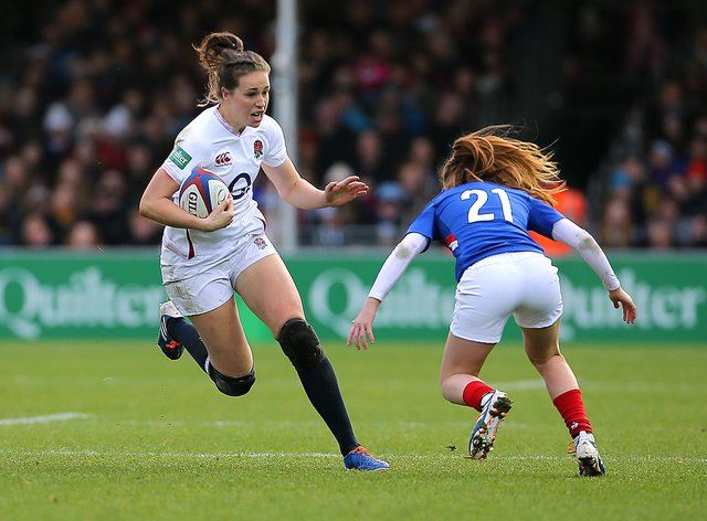 Emily Scarratt was dominant against France last week (PA Images)