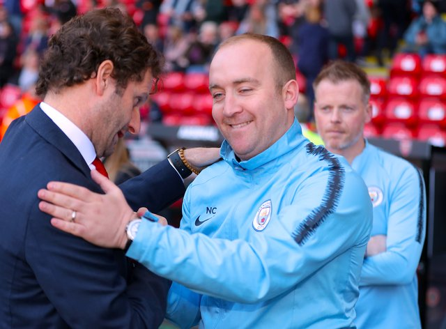 Cushing brings to an end six years at the helm of Manchester City (PA Images)