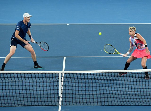 Murray and Mattek-Sands have 15 Grand Slam doubles titles between them (PA Images)