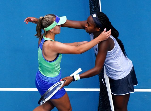 American duo Kenin and Gauff have both moved up the rankings (PA Images)