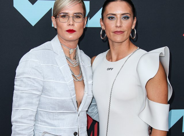 Ashlyn Harris (left) and Ali Krieger (right) share what is it like to work with your wife (PA Images)