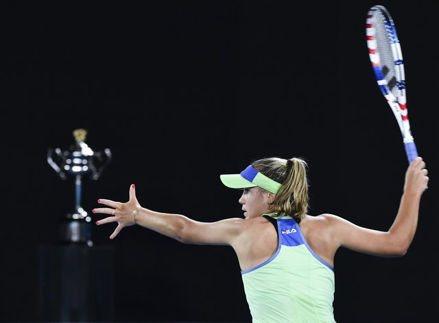 Sofia Kenin sits at the top of the Race to Shenzhen after her Australian Open victory (PA Images)
