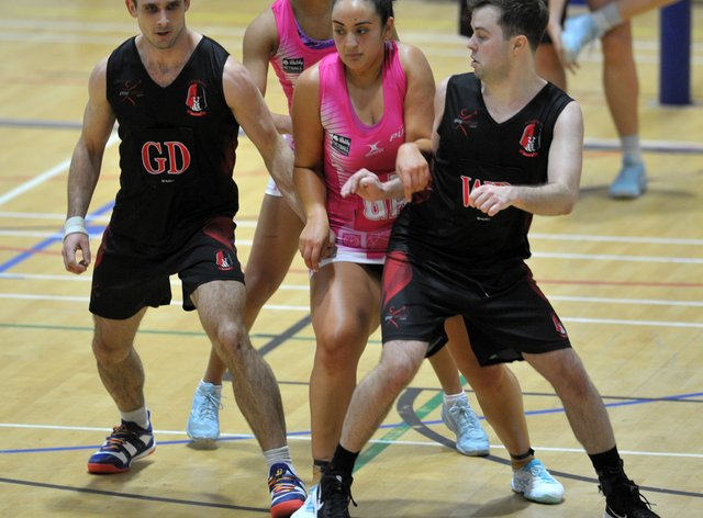 Knights men recently played London Pulse where they won 55-53 (Steve Porter)
