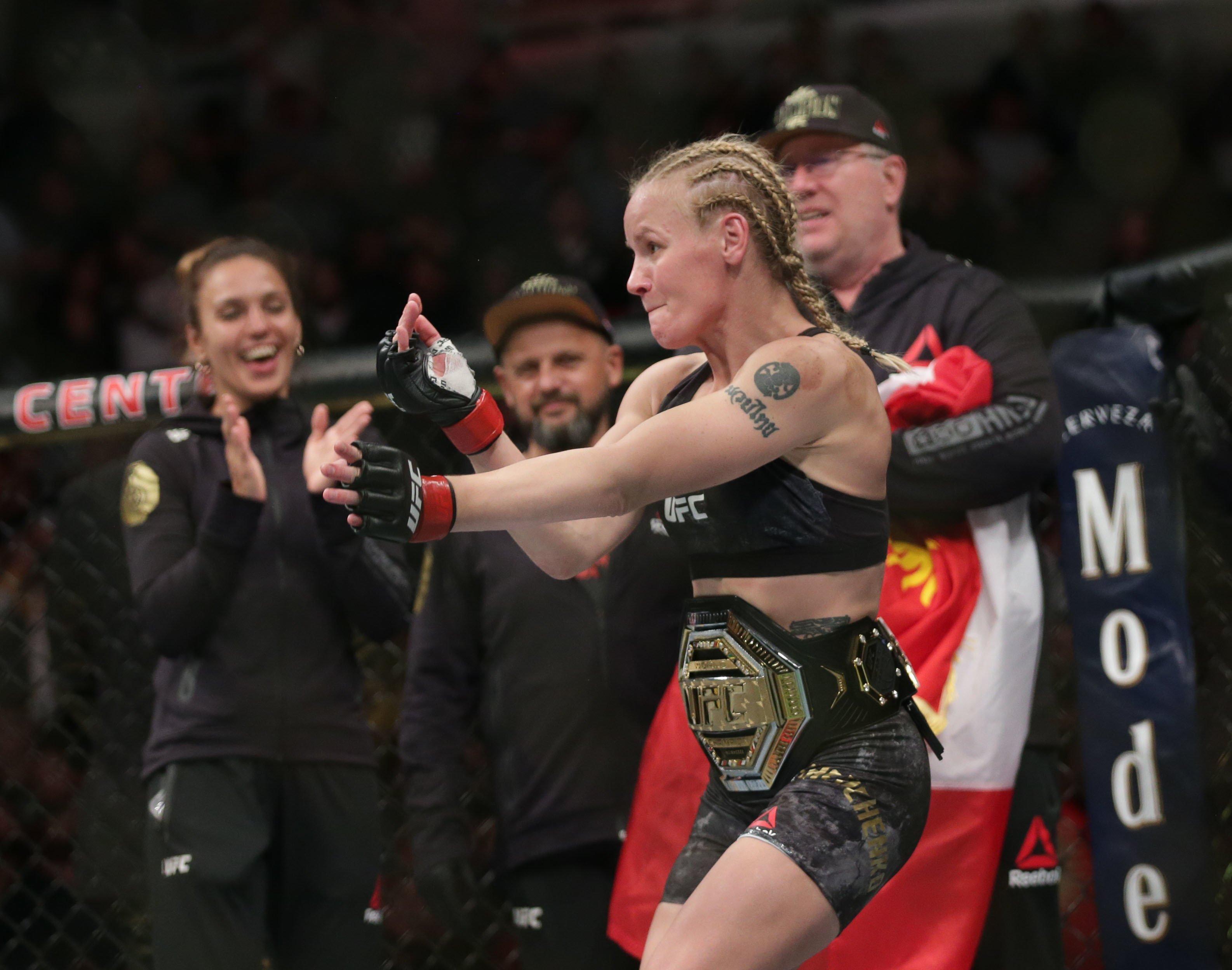 MMA star Valentina Shevchenko dismisses talk of super-fights with Amanda Nunes or Weili Zhang ahead of Katlyn Chookagian clash at UFC 247