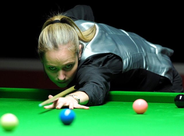 Evans is one of the greatest women's snooker players of all time (PA Images)