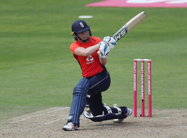 Sciver's work with the bat proved crucial to England's victory (PA Images)
