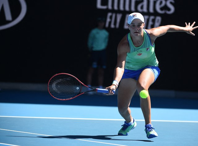 Barty has a foot injury and so won't play in Dubai (PA Images)