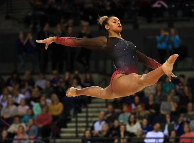 Ellie Downie will be going for gold at this year's World Cup (PA Images)