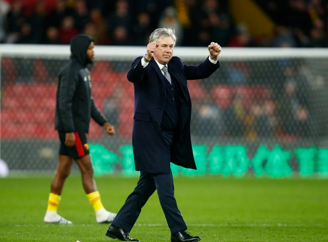 Ancelotti has been in charge of Everton since 2019 (PA Images)