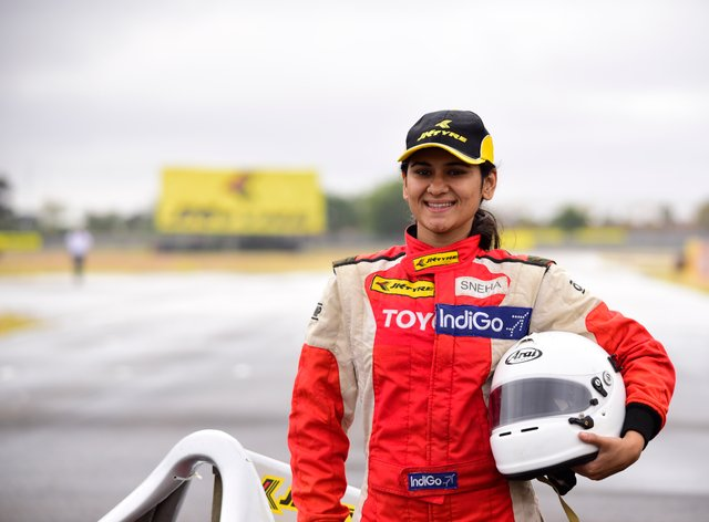 Sneha Sharma is a woman on a motorsport mission
