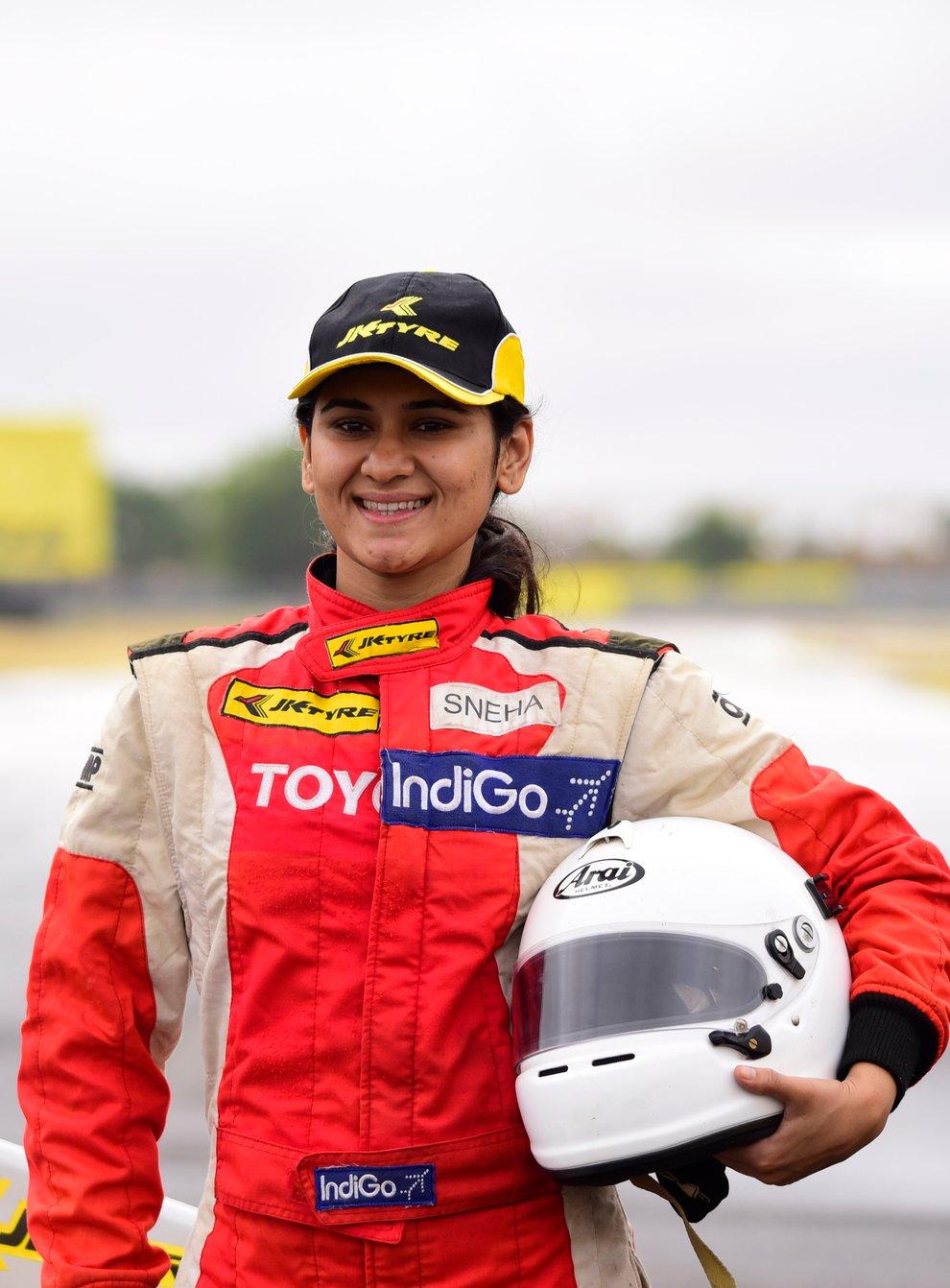 Sneha Sharma is a woman on a motorsport mission