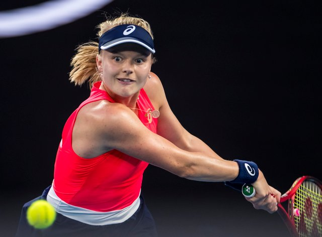 Harriet Dart suffered GB's second loss of the day (PA Images)