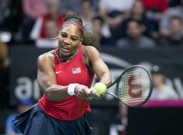 Serena Williams sealed the second USA victory of the day (Twitter: Fed Cup)