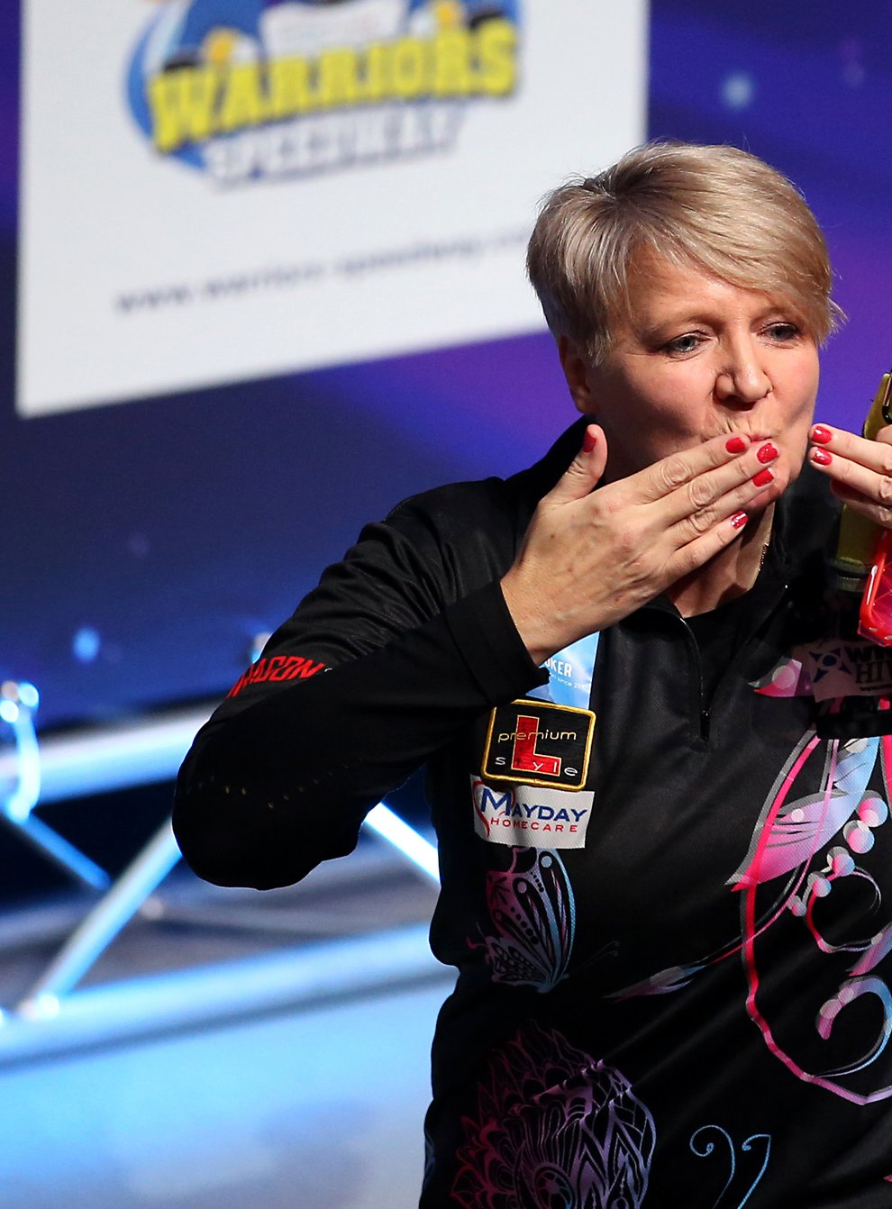 Ashton has created yet more history for women's darts players (PA Images)