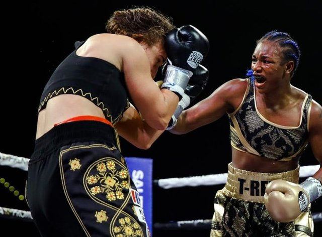 Shields' fight with Ivana Habazin was initially called off due to the altercation involving her brother at the weigh-in (PA Images)