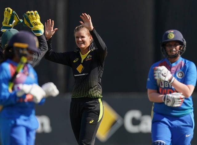 Jonassen blitzed India's batting order to lead Australia to victory (PA Images)