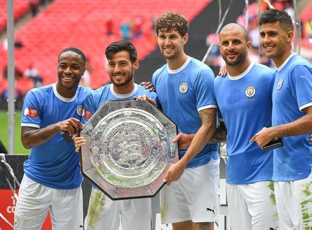 Manchester City won the 2019 Community Shield at Wembley (PA Images)