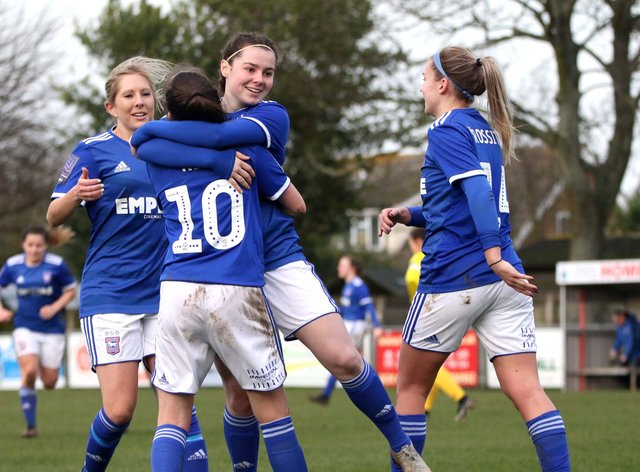 Ipswich will be looking to upset Manchester City on Sunday (Twitter: Ipswich Town Women)