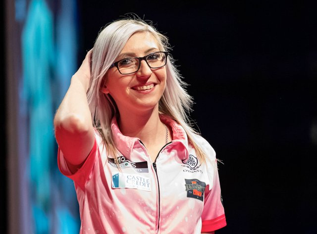 Sherrock has become one of the highest profile darts players since her historic run at the world championships in December (PA Images)
