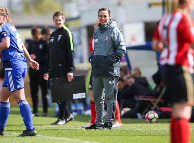 Reay, right, is aiming to get Sunderland promoted (PA Images)