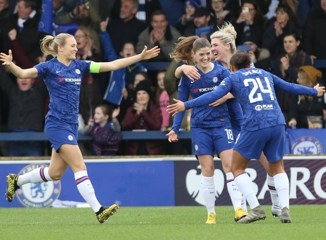 Chelsea are still unbeaten so far in the WSL this season (PA Images)