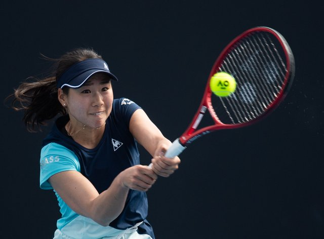 Hibino won her second WTA title in September 2019 in her home country of Japan (PA Images)