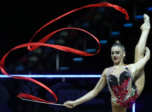 Soldatova concealed her health battles in her quest for gold (PA Images)