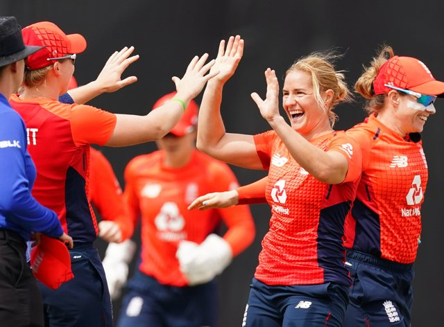 Brunt shone with the ball from her very first over of the day (PA Images)