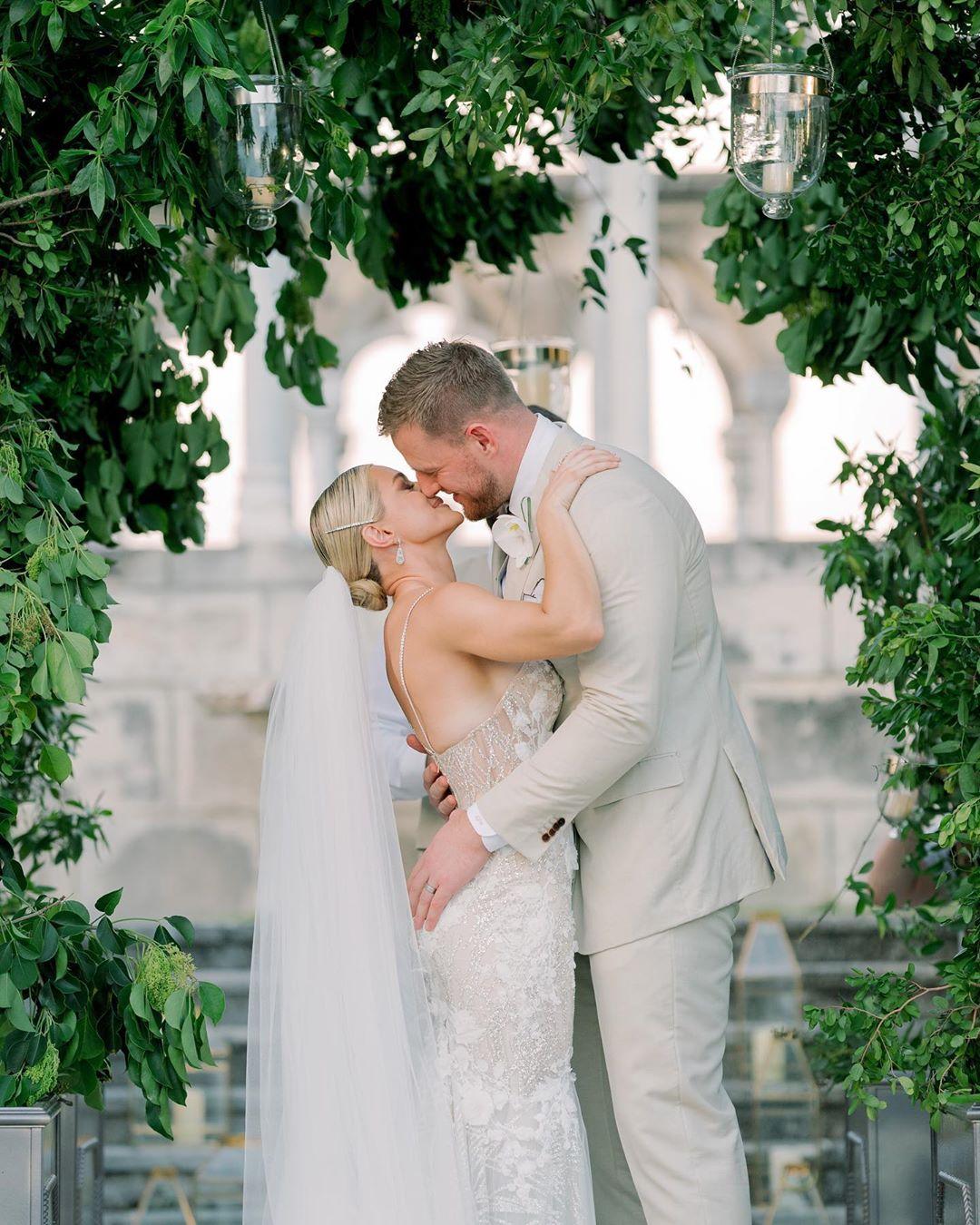 Watt a beautiful wedding