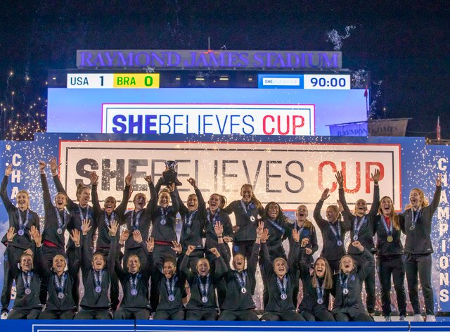 England are the reigning SheBelieves Cup champions (PA Images)