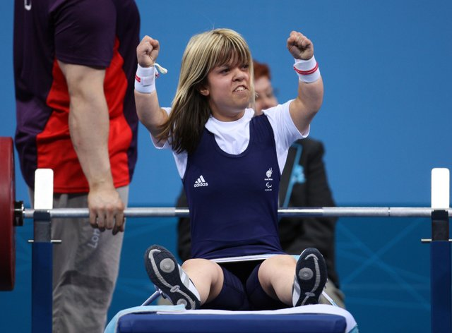 Newson on her way to bronze at London 2012 (PA Images)