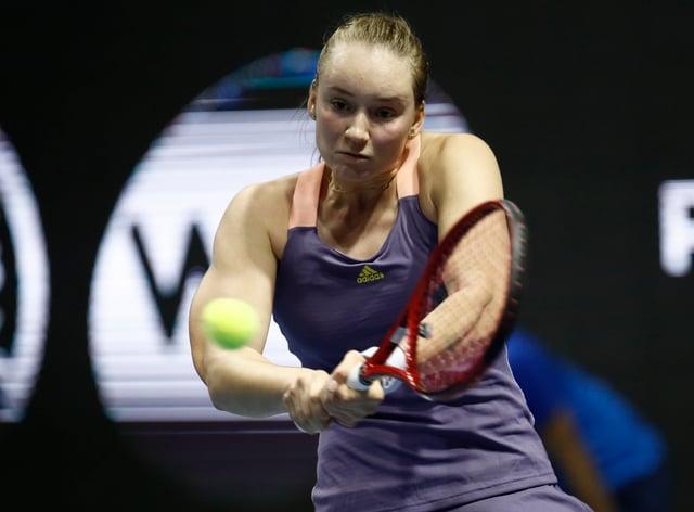 Rybakina produced the biggest upset of the Dubai tournament so far (PA Images)