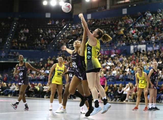 Kathryn Ratnapala 'excited' for her team to step up ahead of the Vitality Netball Superleague season (PA Images)