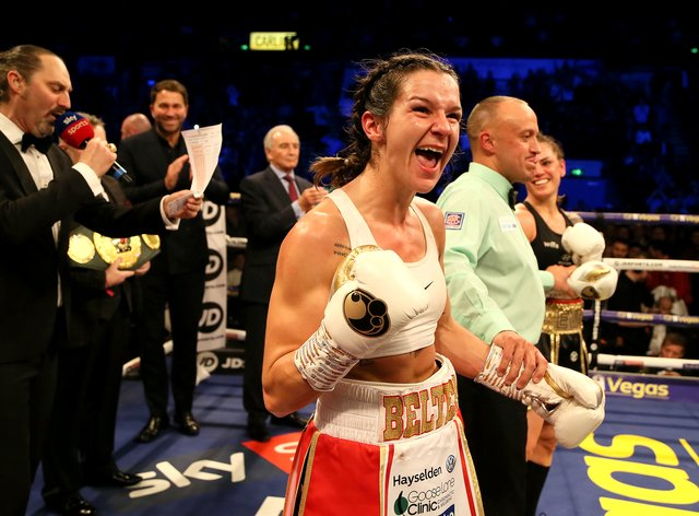 Harper is the WBO superweight champion (PA Images)