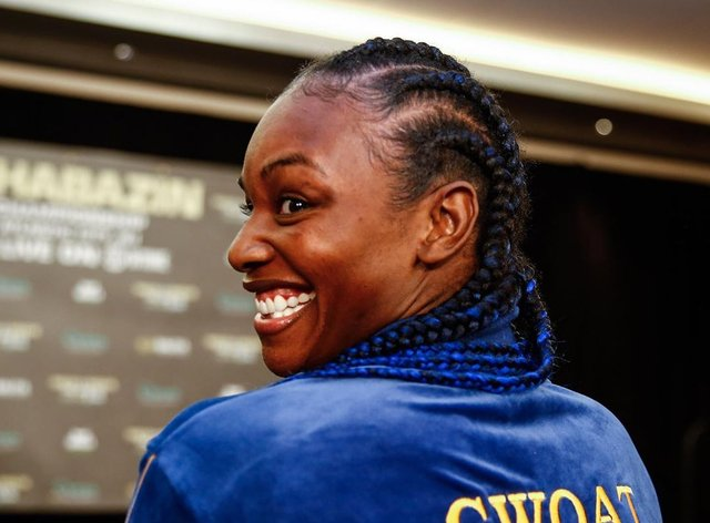 Shields often refers to herself as the 'GWOAT' or 'Greatest Woman of All-Time' (Instagram: Claressa Shields)