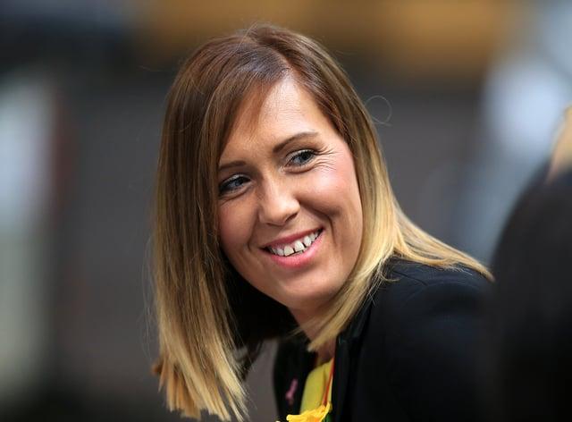 Manchester Thunder's Karen Greig, looking to match last season's Suerleague title (PA Images)