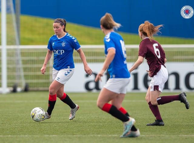 Rangers had a comfortable 3-0 win over Hearts (Twitter: Rangers Women)