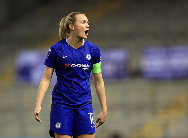 Eriksson has been an integral part of Chelsea's unbeaten run in the WSL (PA Images)