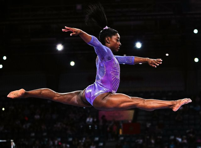 Simone Biles is USA's most decorated gymnast (PA Images)