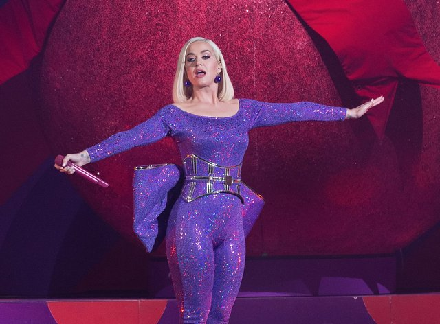 Katy Perry will play on March 8 at Melbourne Cricket Ground (PA Images)
