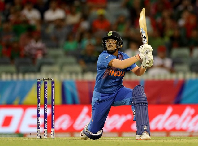 Verma smashed a quick-fire 39 against Bangladesh (PA Images)