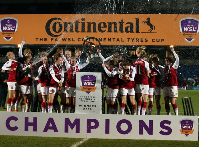 Arsenal last won the League Cup two years ago when they beat Manchester City in the final (PA Images)